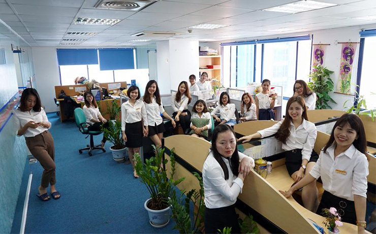 nhân viên công ty Châu Dương
