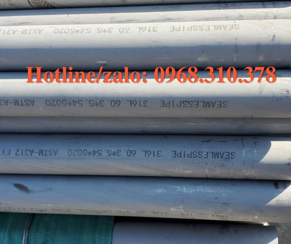 ống đúc inox 316l