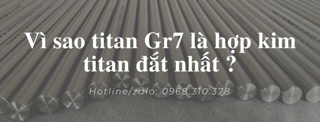 hợp kim titan gr7
